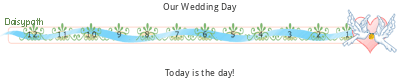 Daisypath Wedding tickers